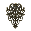 4 Piece Antiqued Bronze Filigree Pieces