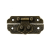 Antique Bronze Decorative Box Latch