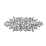 Silver Tone Filigree - set of 2