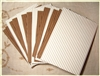 15 Corrugated Cardboard Sheets - Mixed White and Kraft
