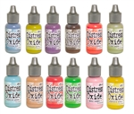 (LATE JULY PRE-ORDER) Ranger Tim Holtz Distress Oxide Reinker 12 Color Bundle #4