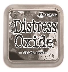 Ranger Tim Holtz Distress Oxide Pad - Black Soot