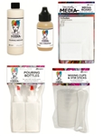 (EARLY JULY PRE-ORDER) Dina Wakley Pouring Medium Bundle - 5 pieces
