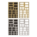 Tim Holtz Idea-ology Metallic Stickers Labels TH93335
