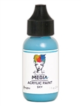 Dina Wakley Mediz a Acrylic Paint  - Sky, 1 oz Bottle