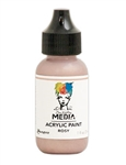 Dina Wakley Media Acrylic Paint  - Rosy, 1oz Bottle