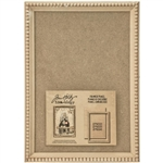 Tim Holtz Idea-ology Framed Panel