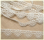 Venise Lace Trim  - 3/4 Inch Wide (1-1)