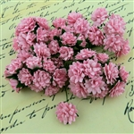 Baby Pink Mulberry Paper Aster Daisy Stem Flowers SAA-379