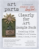 Studio 490 Wendy Vecchi Art Parts Clearly for Art Sample Pack