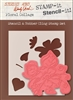 Floral Collage Stamp It Stencil It from Stampers Anonymous Studio 490 Wendy Vecchi