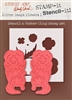 Stampers Anonymous Studio 490 Wendy Vecchi Stamp it Stencil It Mirror Flowers 2 STST027