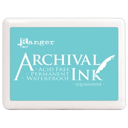 Ranger Archival Ink Pad - Large - Aquamarine