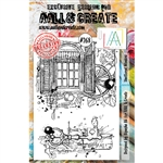 AALL & Create A5 Stamp Set - Shuttered Window #268