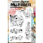 AALL & Create A5 Stamp Set - Flourish #269