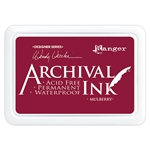 Ranger Wendy Vecchi Make Art Archival Ink Pad - Mulberry AID73994