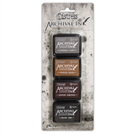 Ranger Tim Holtz Distress Archival Mini Ink Pad Kit #3