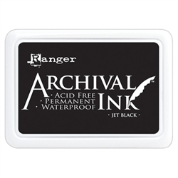 Ranger Archival Ink Pad - Jet Black AIP31468