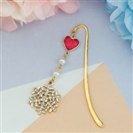 Black Friday Special Purchase - Gold Christmas Mini Bookmark