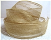Natural Woven Jute Ribbon - 1.25""