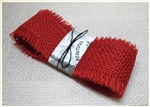 Red Jute Mesh (Burlap) Ribbon