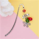 Special Purchase - Silver Christmas Mini Bookmark