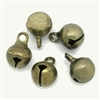 Tiny Bronze Jingle Bells - Set of 15