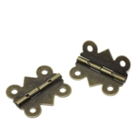 Bronze Tone Hinges - Set of 4