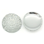 "3/8"" Clear Acrylic Gumdrops - Set of 10"