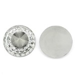 10 Piece Clear Gray Resin Rhinestone Embellishments