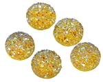 Gold Resin Gumdrop - Set of 5