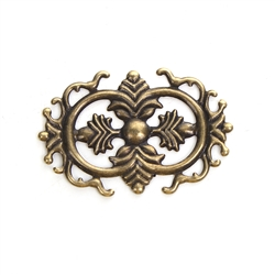 Antique Bronze Filigree - Set of 3