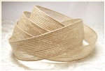Natural Woven Jute Ribbon - 1""