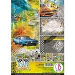Ciao Bella - Start Your Engines A4 Paper Pad CBCL031