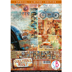 Ciao Bella - Collateral Rust A4 Paper Pad CBCLE026 Limited Edition