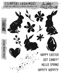 Stampers Anonymous Tim Holtz Stamp Set - Spring Shadows CMS393