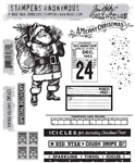 Stampers Anonymous Tim Holtz Stamp Set - Vintage Holidays CMS423