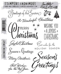Stampers Anonymous Tim Holtz Stamp Set - Christmastime 3 CMS427