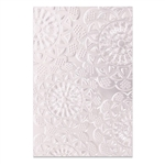 Sizzix Chapter 1 3-D Textured Impressions Embossing Folder - Doily 662265