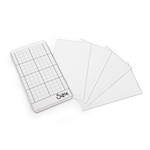 "Sizzix Accessory - Sticky Grid Sheets, 2 5/8"" by 4 5/8"" 663532"