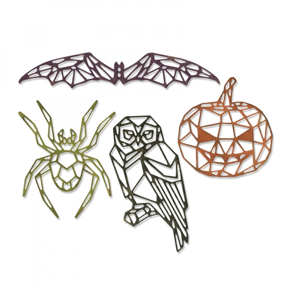 Sizzix Chapter 3 Sizzix Thinlits Die Set - Geo Halloween 664208 by Tim Holtz