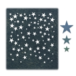 Sizzix Chapter 3 Tim Holtz Thinlits Dies - Falling Stars 664732
