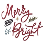 Sizzix Chapter 3 Tim Holtz Thinlits Dies - Merry & Bright 664739