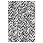 Sizzix Chapter 1 Tim Holtz 3-D Textured Impressions Embossing Folder - Intertwined 664759
