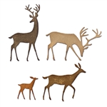 Sizzix Chapter 4 Tim Holtz Thinlits Dies - Darling Deer 664968