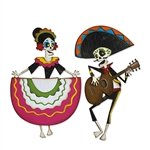 Sizzix Chapter 4 Tim Holtz Thinlits Dies - Day of the Dead Colorize 664969