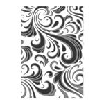 Sizzix Chapter 1 Tim Holtz Texture Fades Embossing Folder - Swirls 665226