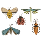 Sizzix Chapter 2 Tim Holtz Thinlits Die Set - Funky Insects 665364