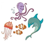 Sizzix Chapter 1 Tim Holtz Thinlits Die Set - Under the Sea #1  665377