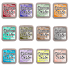 Ranger Tim Holtz Distress Oxide Pad 12 Color Bundle #3